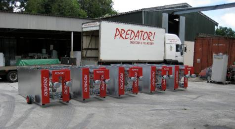 PREDATOR! Delivery of Scrum Machines