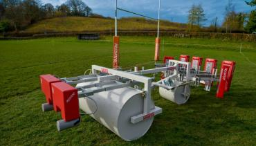 Double Ended rugby roller scrum machine