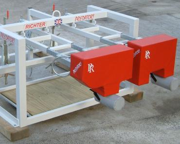 multi age skid-mounted scrum machine