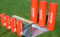 Double Ended Scrum Machine with Bags