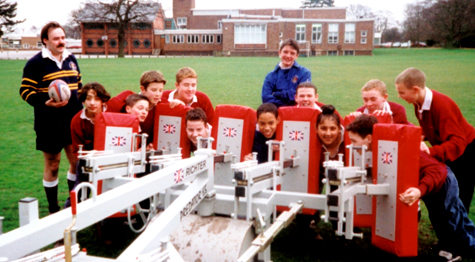 Children with Scrum Machine