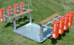 Adult and Junior Ended Scrum Machine